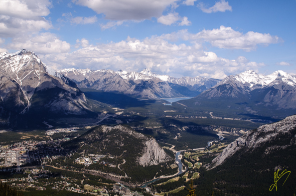 Banff and the National Park.