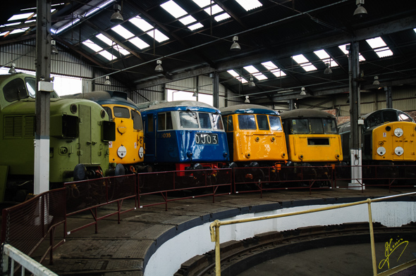 Barrowhill Roundhouse.