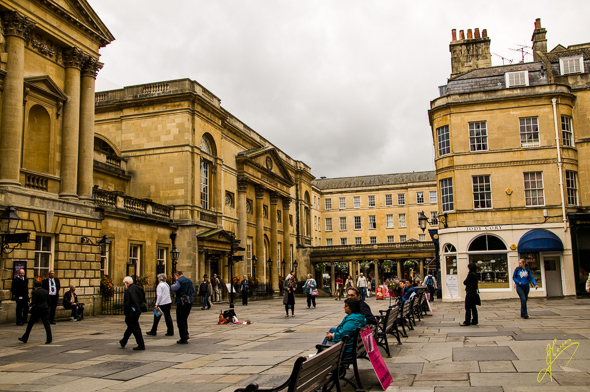 Bath Pump Room and Baths.