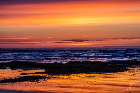Beadnell Bay Sunrise.