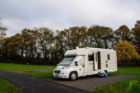 Blackmore Camping and Caravan Club Site.