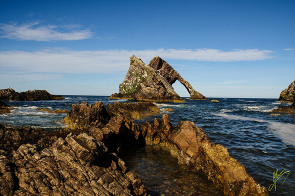 Bow Fiddle Rock.