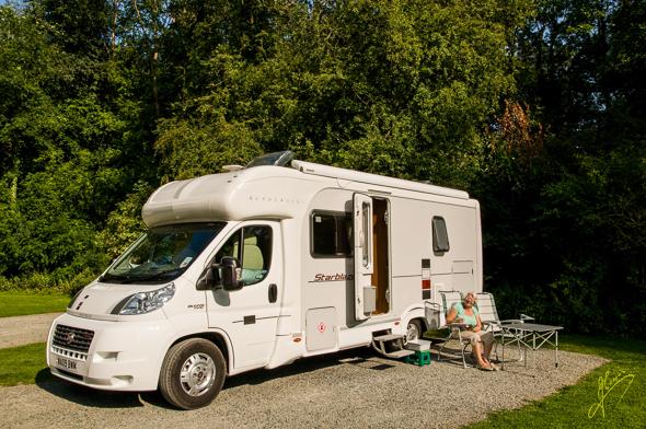 Bromyard Caravan Club  Site.