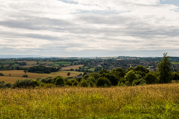 Bromyard from Downs.