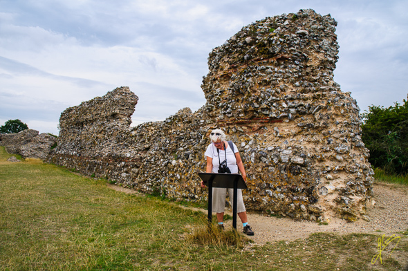 Burgh Castle Roman Fort.