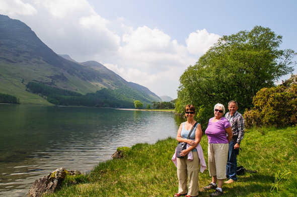 With Judy and Brian at Buttermere.