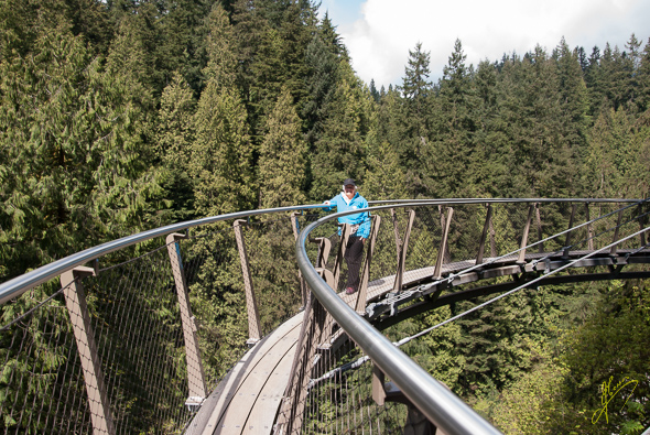 Capilano Cliff Walk.