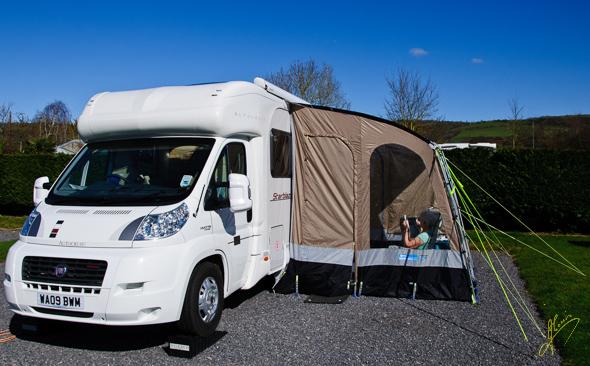 Cheddar Caravan Club Site.