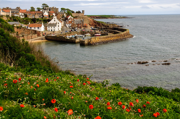 Crail Village and Harbour.
