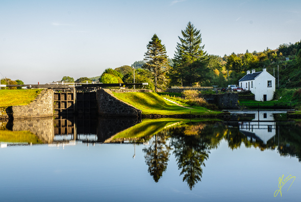 Crinan Canal.
