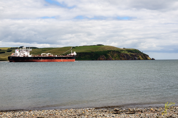Scott Spirit departing Cromarty Firth.