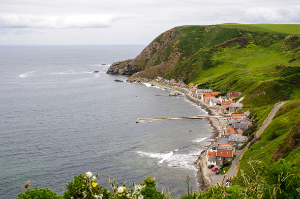 Crovie Village.