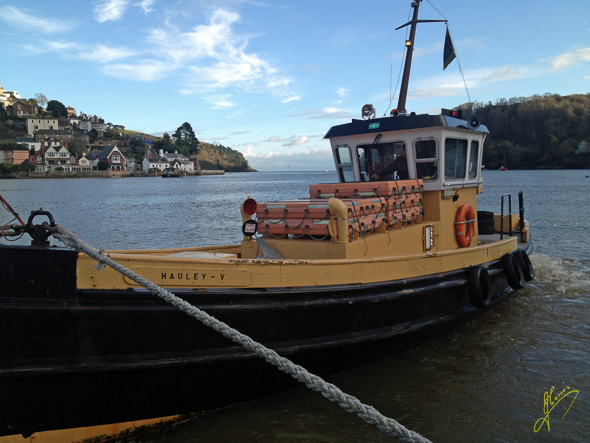 "Dartmouth Vehicle Ferry ""Tug""."