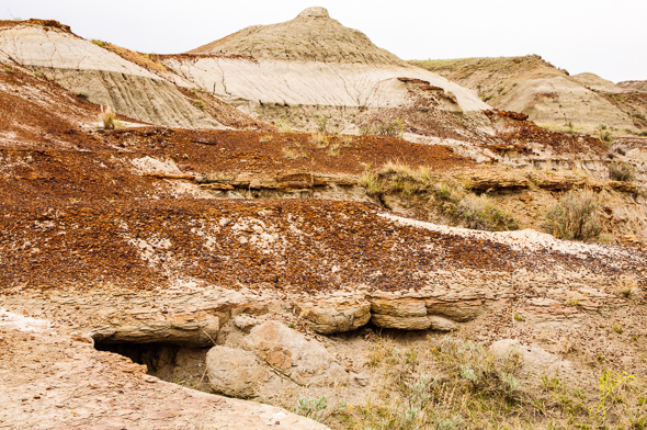 The Badlands Trail, Dinosaur Provincial Park.