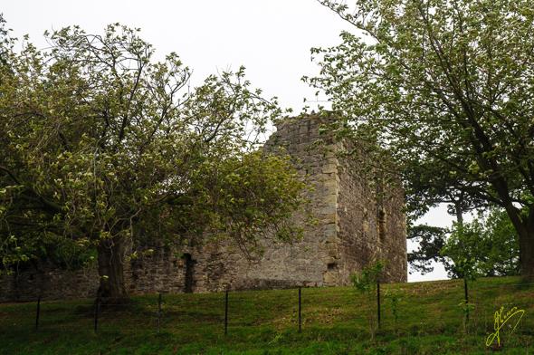 Dirleton Castle.