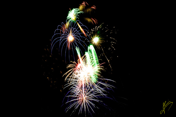Drayton Manor Fireworks.