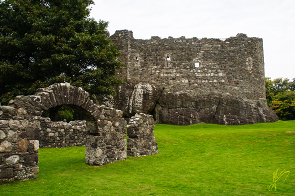 Dunstaffnage Castle.