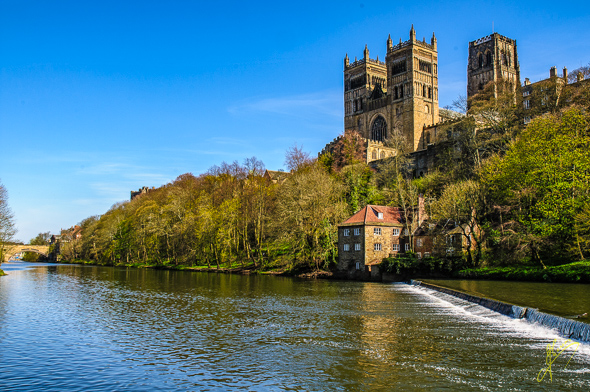 Durham Cathedral and  River.