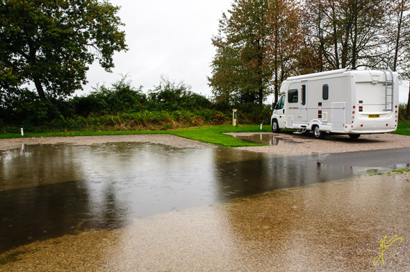Englethwaite Hall Caravan Club Site.