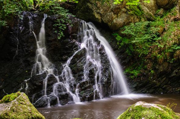 Fairy Glen Waterfalls.