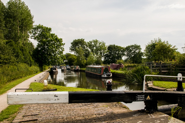 Fazeley to Birmingham Canal near Kingsbury.