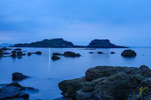 Fidra Island.