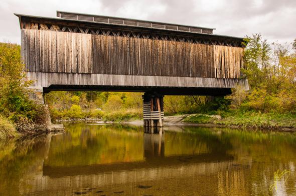 Fisher Covered Railway Bridge, Wolcott.