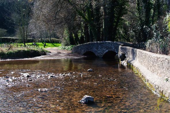 Gallox Bridge at Dunster.