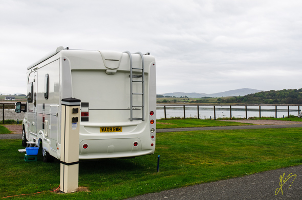 Garlieston Caravan Club Site.