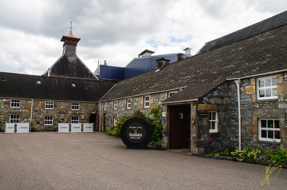 Glenfiddich Distillery.