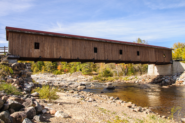 Jay Covered Bridge.