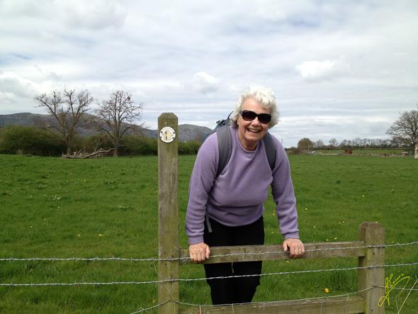 Jenny on Malvern Walk.