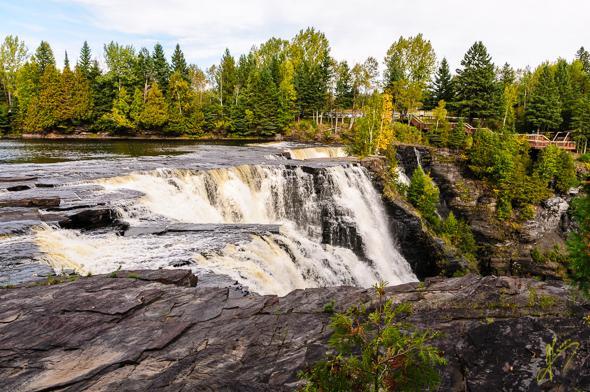 Kakebeka Falls Provincial Park.