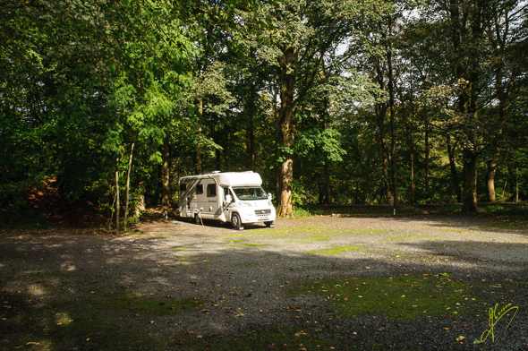 Kendal Caravan Club Site.