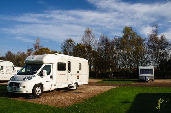 Kingsbury Camping and Caravan Club Site.