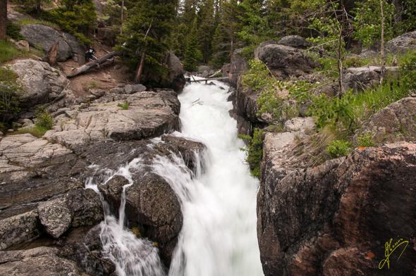 Lake Creek Falls.