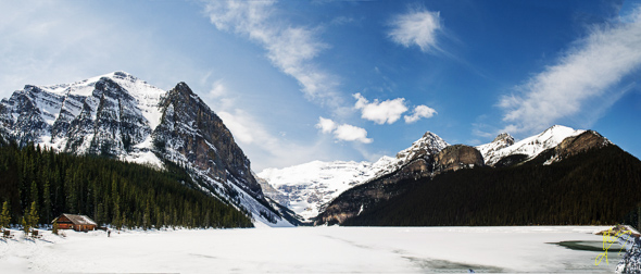 Lake Louise Panorama.