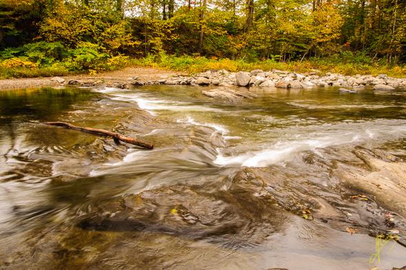 Lamoille River, Watersfield.