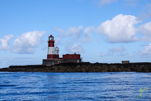 Longstone Lighthouse, Outer Farne Islands.
