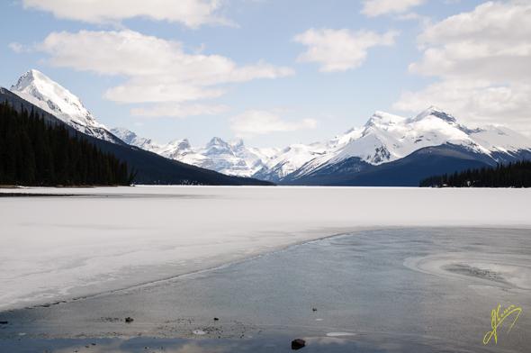 Maligne Lake.