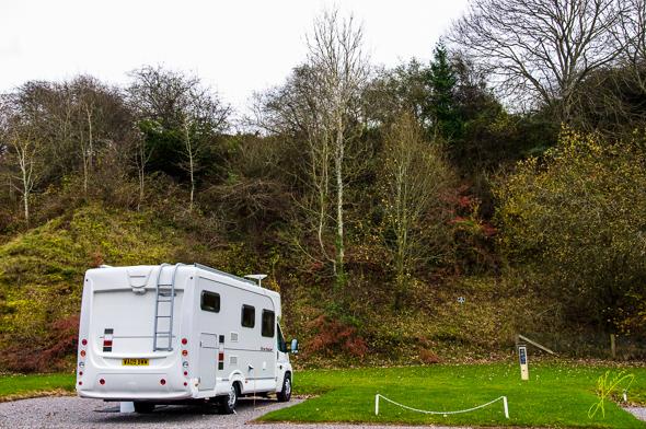 Minehead Caravan Club Site.