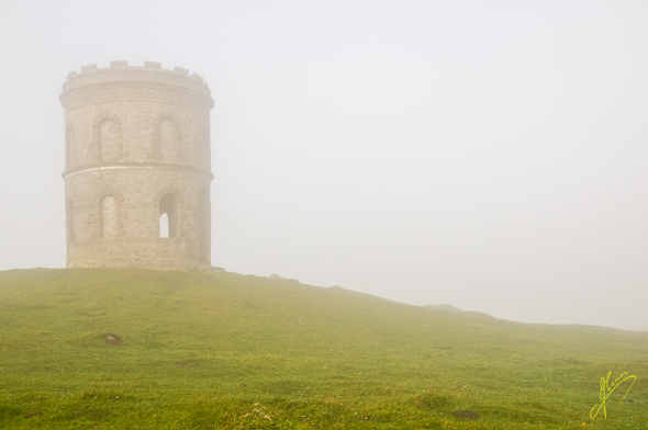 Mist at Solomons Temple.