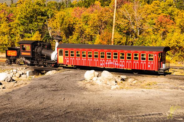 Mount Washington Cog Railway.