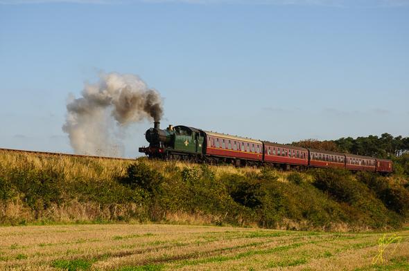 North Norfolk Railway.
