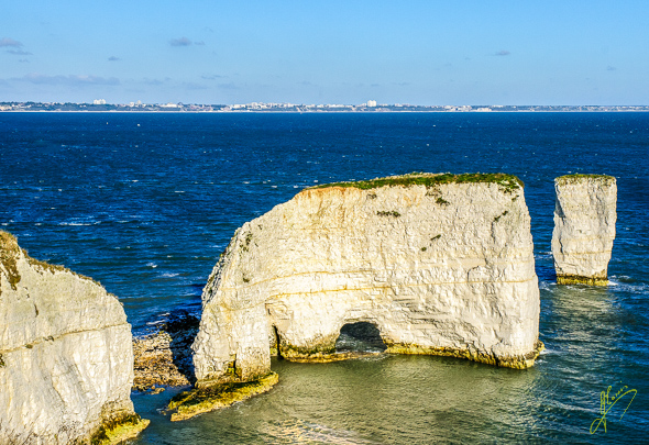 Old Harry Rocks.