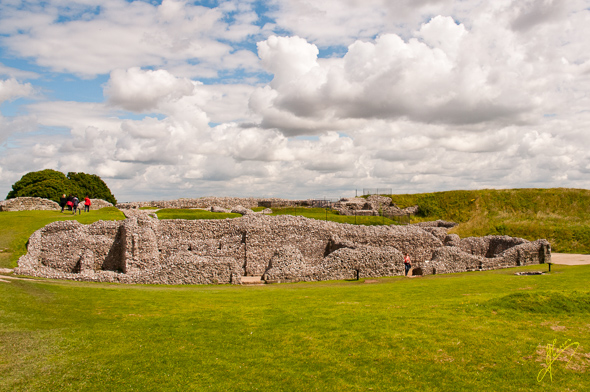 Old Sarum Castle-.