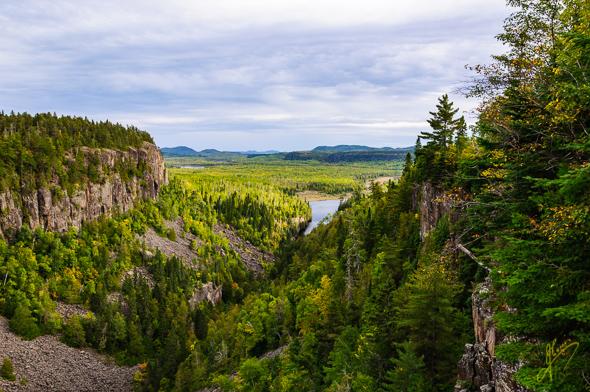 Ouimet Canyon Provincial Park.