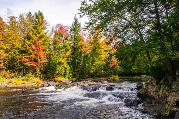 Ragged Falls.