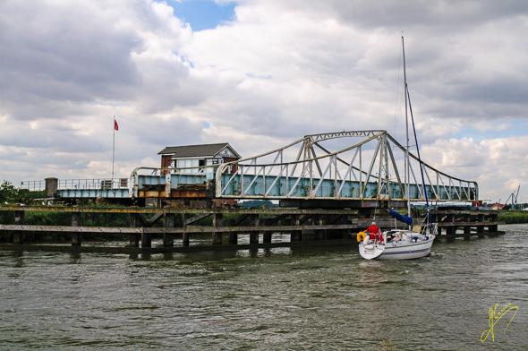 Reedham Swing Bridge.