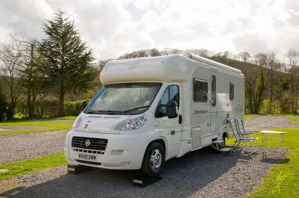 Rhandirmwyn Camping and Caravan Club Site.